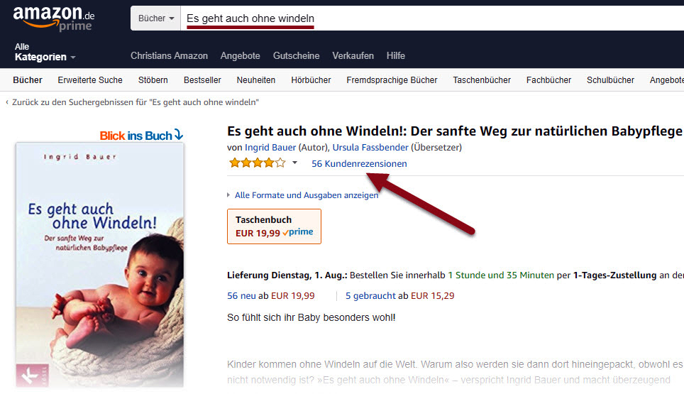 Amazon E-Book Rezension