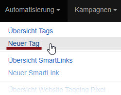 E-Book Interessenten Tag in Klick-Tipp