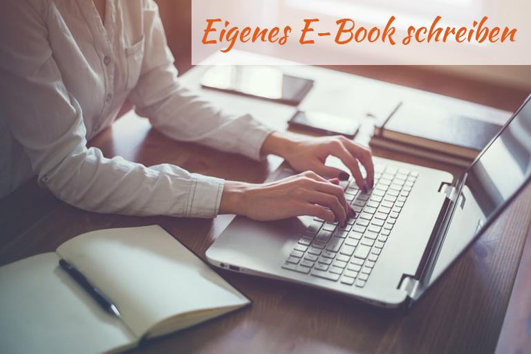 E-Book Schreiben Anleitung