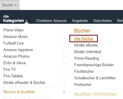 E-Book-Ideen über Amazon-Bücher