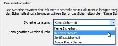 PDF Kennwortschutz