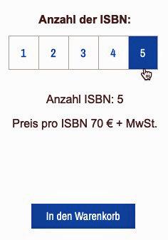 Anzahl ISBN