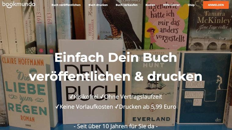 Buch auf bookmundo verkaufen