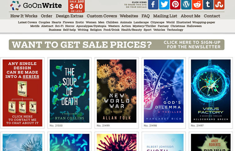 E-Book-Cover auf GoOnWrite kaufen