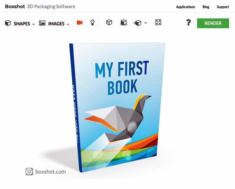 E-Book-Cover mit Boxshot3D erstellen