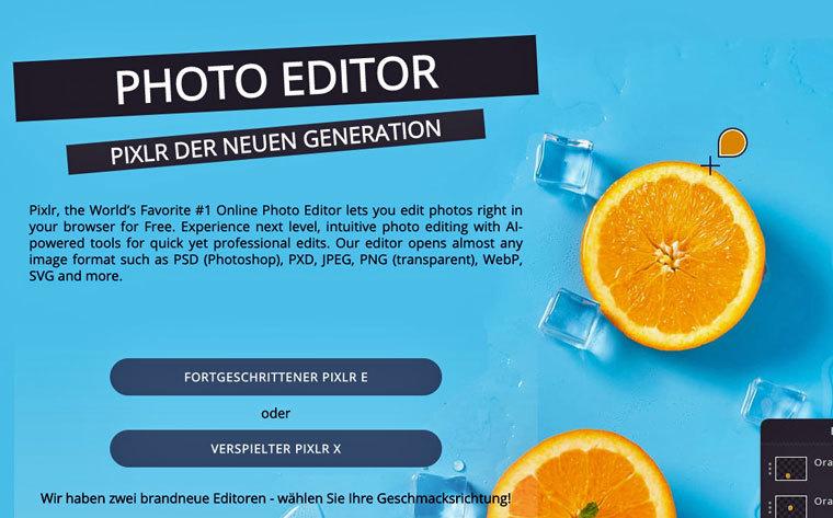 E-Book-Cover mit Pixlr erstellen