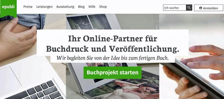 E-Book auf epubli verkaufen