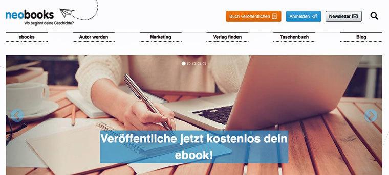 E-Book auf neobooks verkaufen