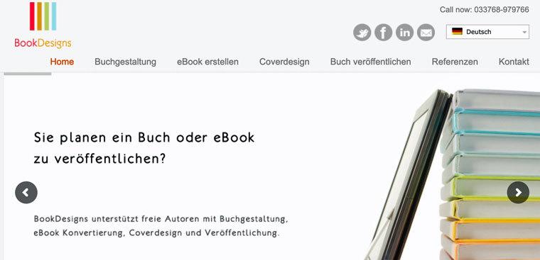 E-Book erstellen lassen auf BookDesigns
