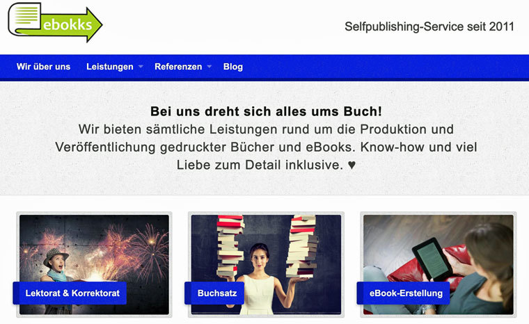 E-Book erstellen lassen mit ebokks