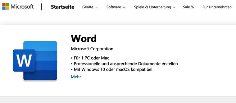 E-Book erstellen mit Microsoft Word