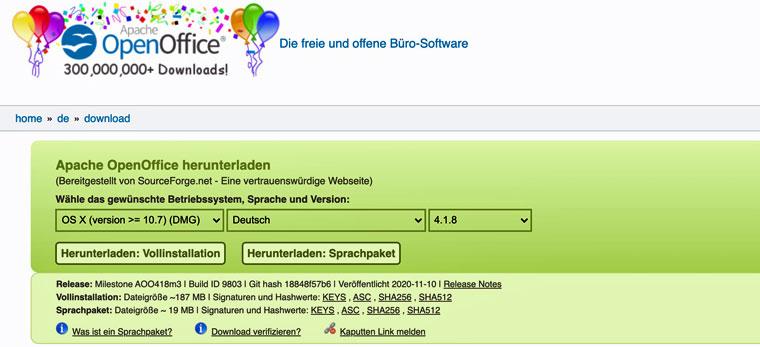 E-Book erstellen mit Open Office