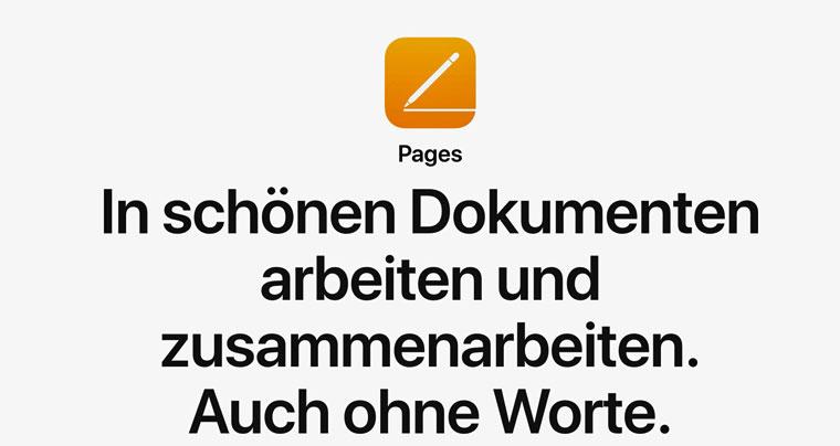 E-Book erstellen mit Pages