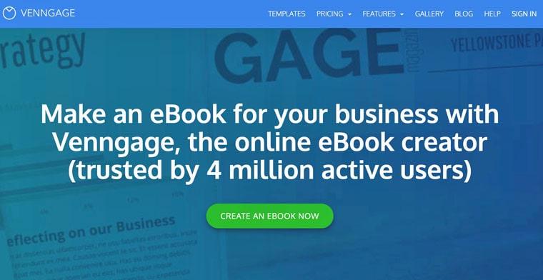 E-Book erstellen mit Venngage