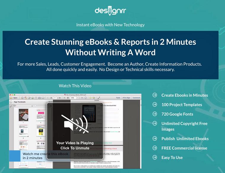 E-Book erstellen mit designrr
