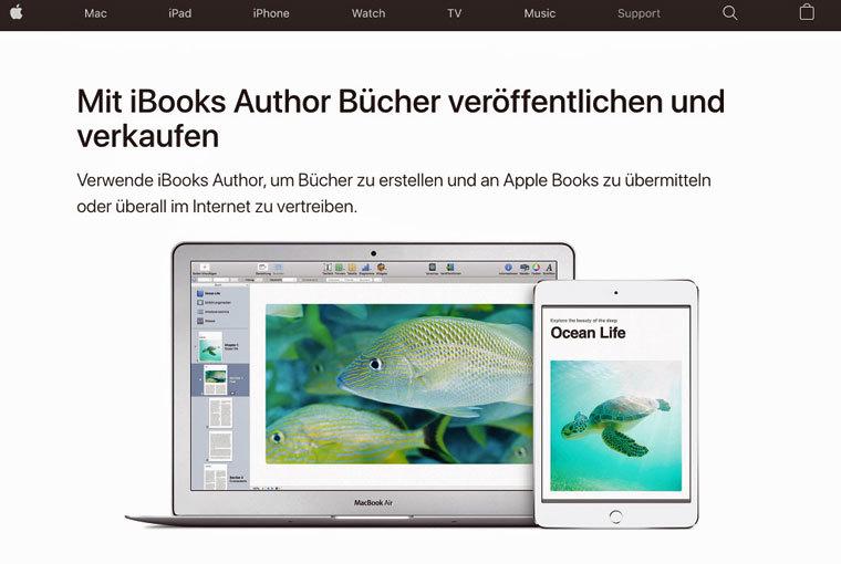 E-Book im iBook-Store verkaufen