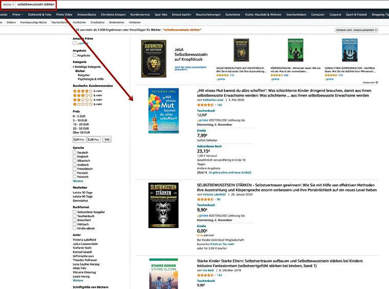 Preise von Amazon-Büchern
