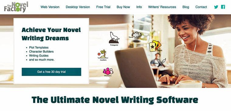 Schreibprogramm Novel-Factory