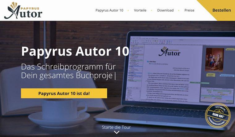 Schreibprogramm Papyrus Autor